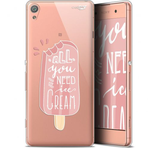 "Extra Slim Gel Sony Xperia XA (5"") Case Design Ice Cream"