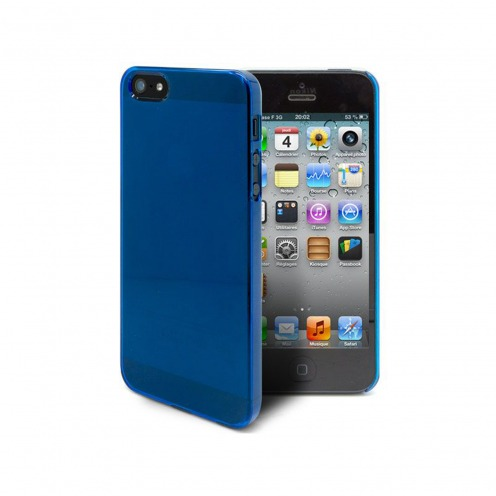 Crystal Slim Case for iPhone 5 blue