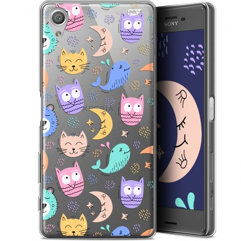 "Extra Slim Gel Sony Xperia X (5"") Case Design Chat Hibou"