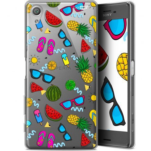 "Extra Slim Gel Sony Xperia X (5"") Case Design Summers"