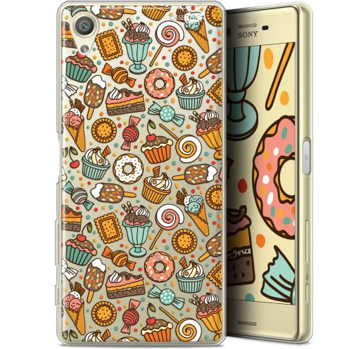 "Extra Slim Gel Sony Xperia X (5"") Case Design Bonbons"