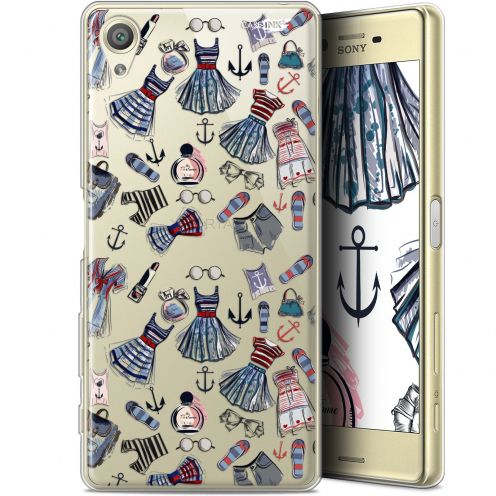 "Extra Slim Gel Sony Xperia X (5"") Case Design Fashionista"