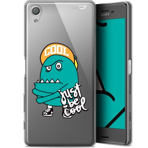 """Extra Slim Gel Sony Xperia X (5"""") Case Design Be Cool"""