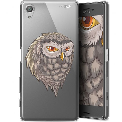 "Extra Slim Gel Sony Xperia X (5"") Case Design Hibou Draw"