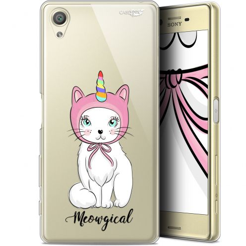 "Extra Slim Gel Sony Xperia X (5"") Case Design Ce Chat Est MEOUgical"
