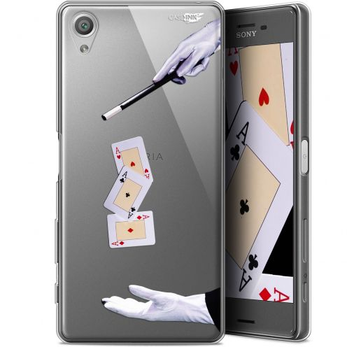 "Extra Slim Gel Sony Xperia X (5"") Case Design Cartes Magiques"