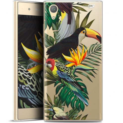 "Extra Slim Gel Sony Xperia XA1 PLUS (5.5"") Case Design Toucan Tropical"