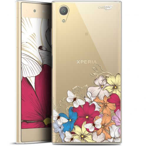 "Extra Slim Gel Sony Xperia XA1 PLUS (5.5"") Case Design Nuage Floral"