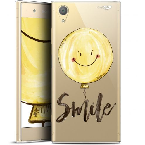 "Extra Slim Gel Sony Xperia XA1 PLUS (5.5"") Case Design Smile Baloon"