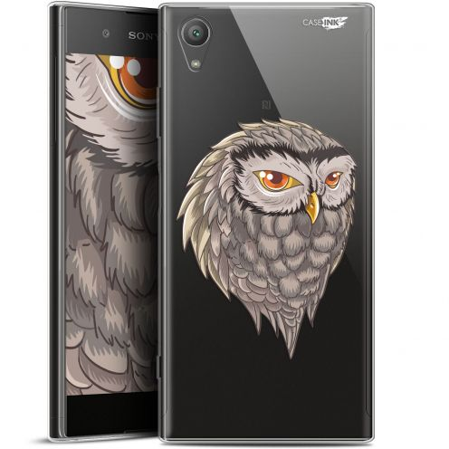 "Extra Slim Gel Sony Xperia XA1 PLUS (5.5"") Case Design Hibou Draw"