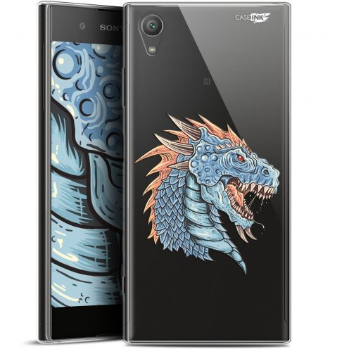 "Extra Slim Gel Sony Xperia XA1 PLUS (5.5"") Case Design Dragon Draw"