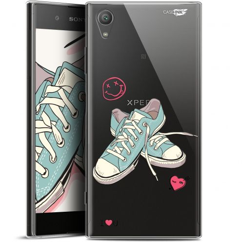 "Extra Slim Gel Sony Xperia XA1 PLUS (5.5"") Case Design Mes Sneakers d'Amour"