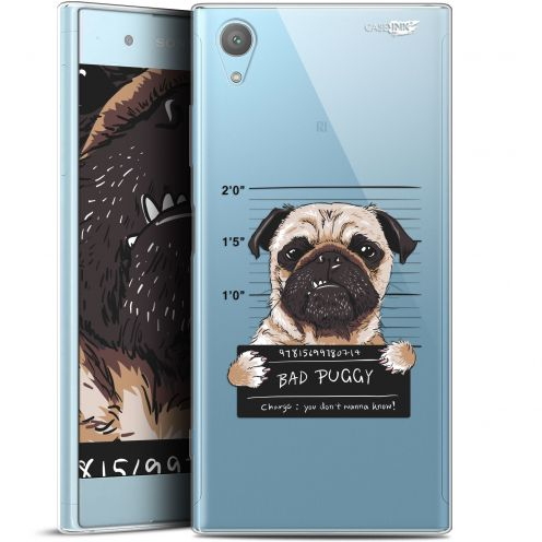 "Extra Slim Gel Sony Xperia XA1 PLUS (5.5"") Case Design Beware The Puggy Dog"