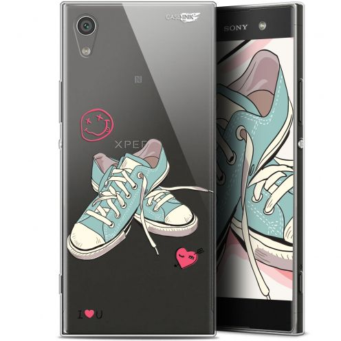 """Extra Slim Gel Sony Xperia XA1 Ultra (6"""") Case Design Mes Sneakers d'Amour"""