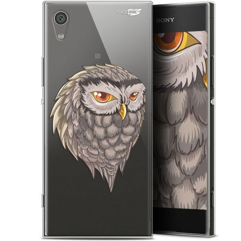 "Extra Slim Gel Sony Xperia XA1 (5"") Case Design Hibou Draw"
