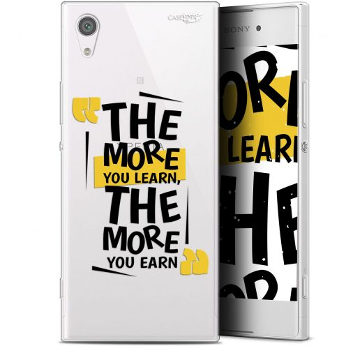 """Extra Slim Gel Sony Xperia XA1 (5"""") Case Design The More You Learn"""