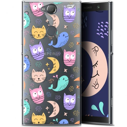 "Extra Slim Gel Sony Xperia XA2 PLUS (6"") Case Design Chat Hibou"