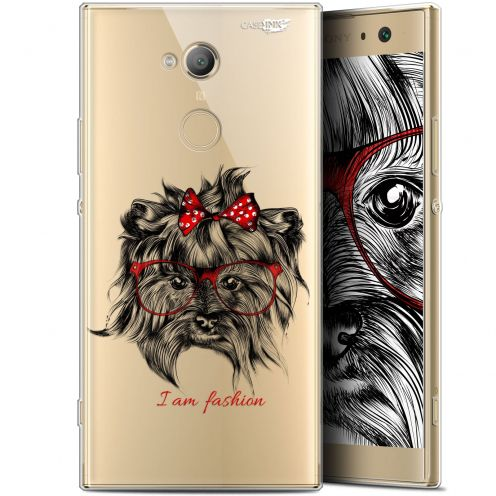 "Extra Slim Gel Sony Xperia XA2 ULTRA (6"") Case Design Fashion Dog"