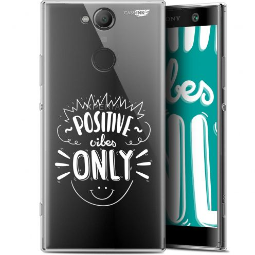 """Extra Slim Gel Sony Xperia XA2 (5.2"""") Case Design Positive Vibes Only"""