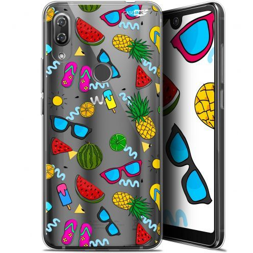 "Extra Slim Gel Wiko View 2 Pro (6"") Case Design Summers"