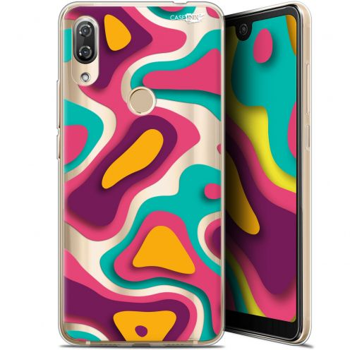 "Extra Slim Gel Wiko View 2 Pro (6"") Case Design Popings"
