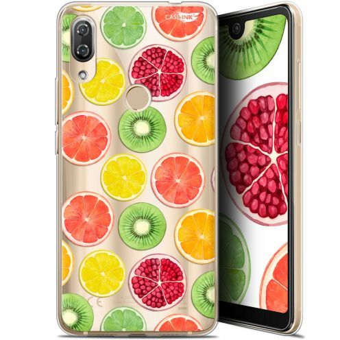 "Extra Slim Gel Wiko View 2 Pro (6"") Case Design Fruity Fresh"