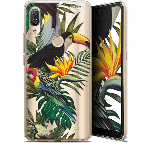 "Extra Slim Gel Wiko View 2 Pro (6"") Case Design Toucan Tropical"