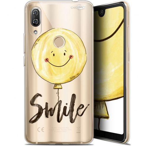 "Extra Slim Gel Wiko View 2 Pro (6"") Case Design Smile Baloon"