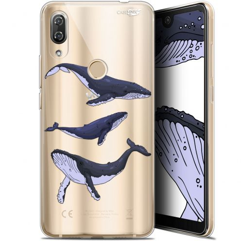 "Extra Slim Gel Wiko View 2 Pro (6"") Case Design Les 3 Baleines"