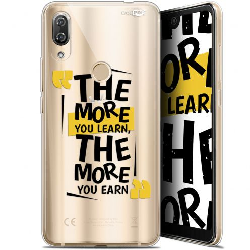 """Extra Slim Gel Wiko View 2 Pro (6"""") Case Design The More You Learn"""