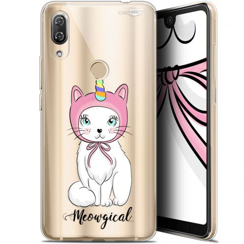 "Extra Slim Gel Wiko View 2 Pro (6"") Case Design Ce Chat Est MEOUgical"