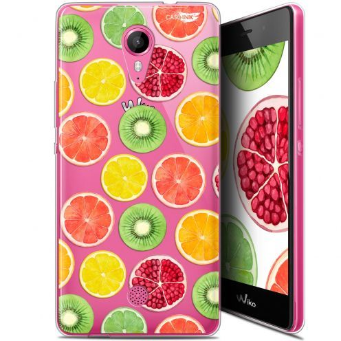 "Extra Slim Gel Wiko Tommy (5"") Case Design Fruity Fresh"
