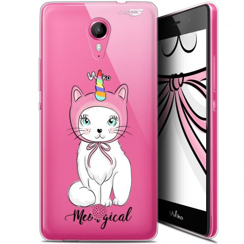 "Extra Slim Gel Wiko Tommy (5"") Case Design Ce Chat Est MEOUgical"