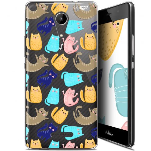 "Extra Slim Gel Wiko Tommy 2 (5"") Case Design Chat Danse"