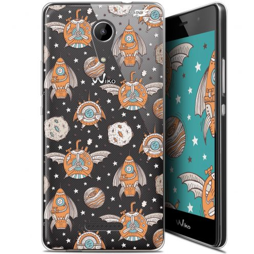 """Extra Slim Gel Wiko Tommy 2 (5"""") Case Design Punk Space"""