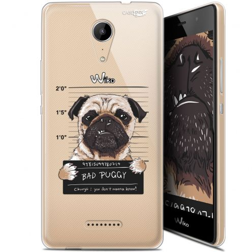 "Extra Slim Gel Wiko Tommy 2 (5"") Case Design Beware The Puggy Dog"