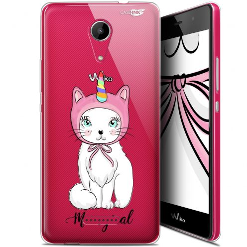 """Extra Slim Gel Wiko Tommy 2 (5"""") Case Design Ce Chat Est MEOUgical"""