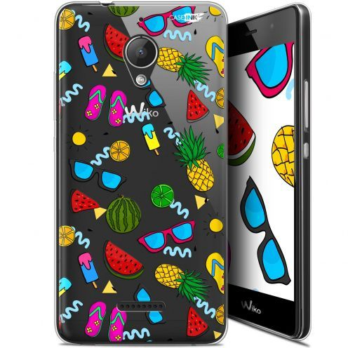 "Extra Slim Gel Wiko Tommy 2 Plus (5.5"") Case Design Summers"