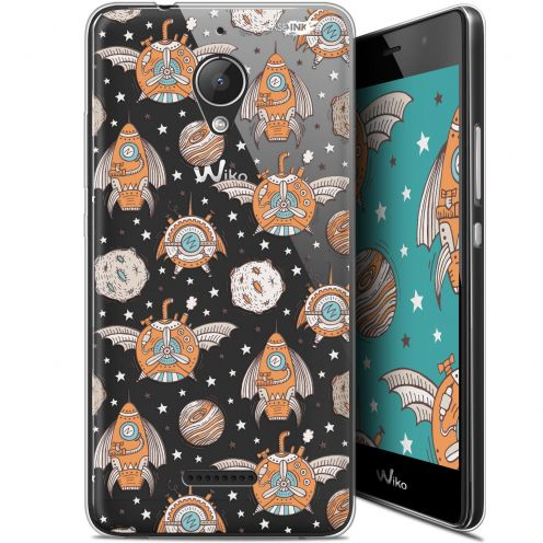 "Extra Slim Gel Wiko Tommy 2 Plus (5.5"") Case Design Punk Space"
