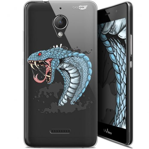 "Extra Slim Gel Wiko Tommy 2 Plus (5.5"") Case Design Cobra Draw"