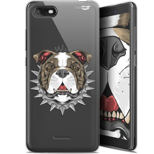 """Extra Slim Gel Wiko Tommy 3 (5.45"""") Case Design Doggy"""