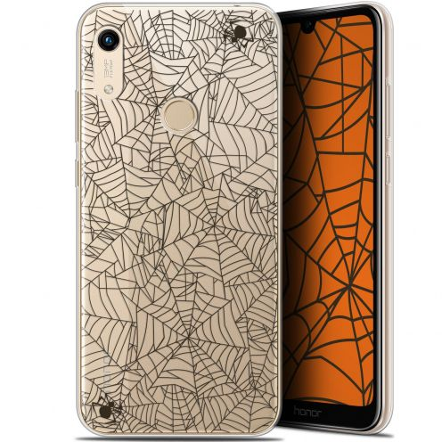 "Extra Slim Gel Huawei Honor 8A (6.1"") Case Halloween Spooky Spider"