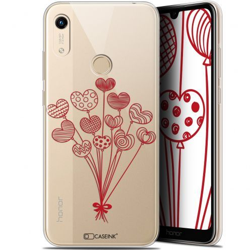 "Extra Slim Gel Huawei Honor 8A (6.1"") Case Love Ballons d'amour"