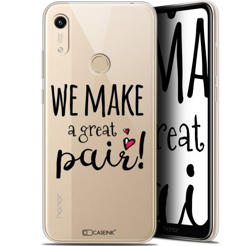 "Extra Slim Gel Huawei Honor 8A (6.1"") Case Love We Make Great Pair"