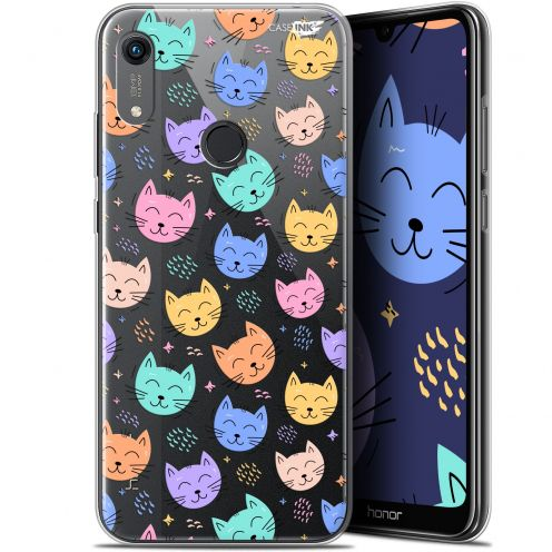"""Extra Slim Gel Huawei Honor 8A (6.1"""") Case Design Chat Dormant"""