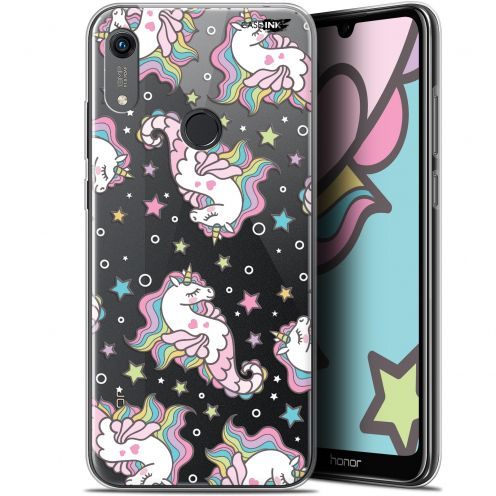 "Extra Slim Gel Huawei Honor 8A (6.1"") Case Design Licorne Dormante"