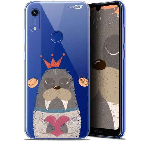 "Extra Slim Gel Huawei Honor 8A (6.1"") Case Design Sketchy Walrus"
