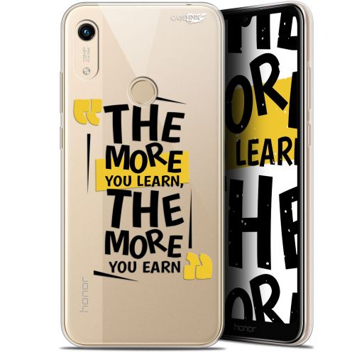 """Extra Slim Gel Huawei Honor 8A (6.1"""") Case Design The More You Learn"""
