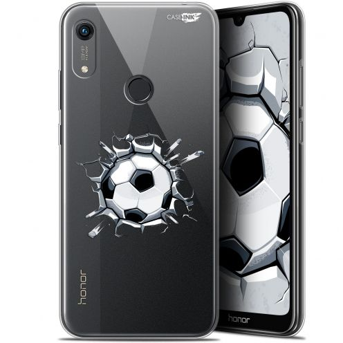"Extra Slim Gel Huawei Honor 8A (6.1"") Case Design Le Balon de Foot"
