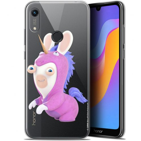 """Gel Huawei Honor 8A (6.1"""") Case Lapins Crétins™ Licorne"""